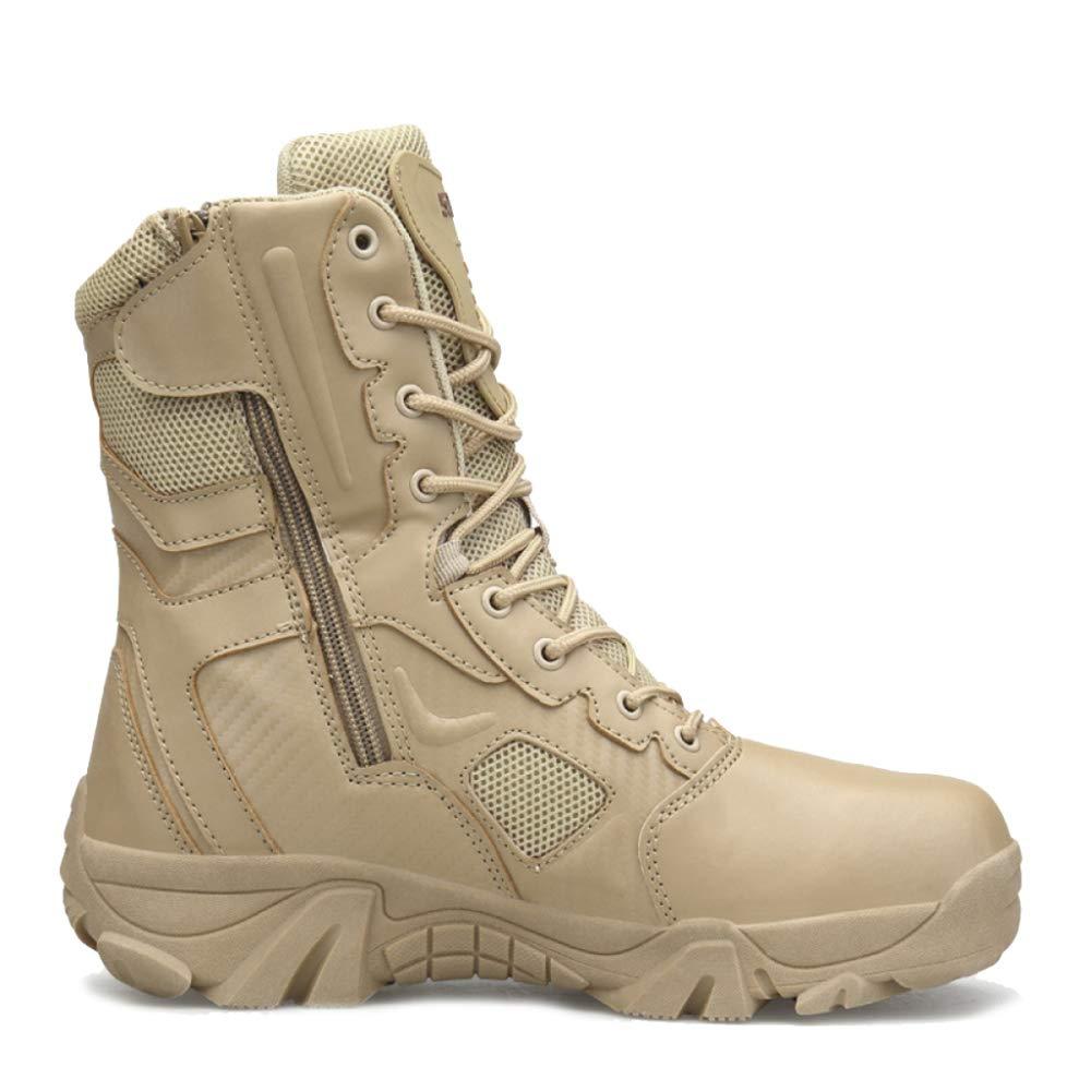 Souy Forces Spéciales des Hommes Armée Militaire Combat Booties Résistant à l'usure Bottes du Désert Sécurité Police Chaussures Tactiques