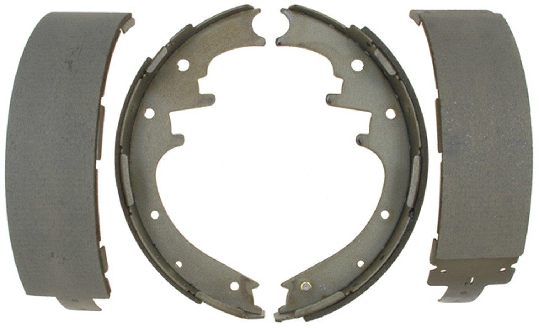ACDelco 14705B Advantage Bonded Rear Brake Shoe Set