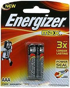Amazon.com: Energizer E92bp-2 Aaa 2pk Alkaline Batteries