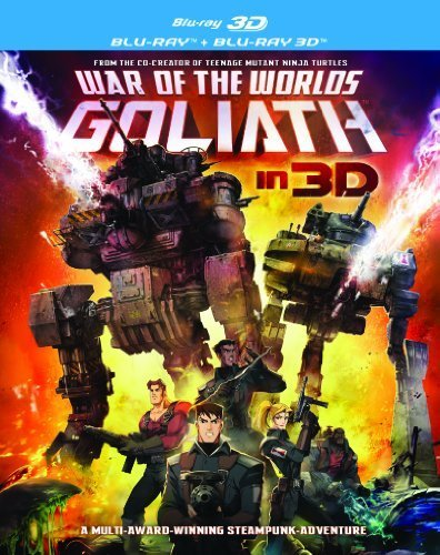 War of the Worlds-Goliath BD + Blu-Ray 3D by Anderson Digital