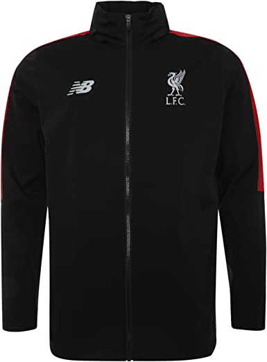 Amazon Com New Balance Liverpool Fc Collection 2018 2019 Training Kit Black Junior Football Precision Rain Jacket Available Sizes Sb Mb Lb Xlb Lfc Official Store Clothing
