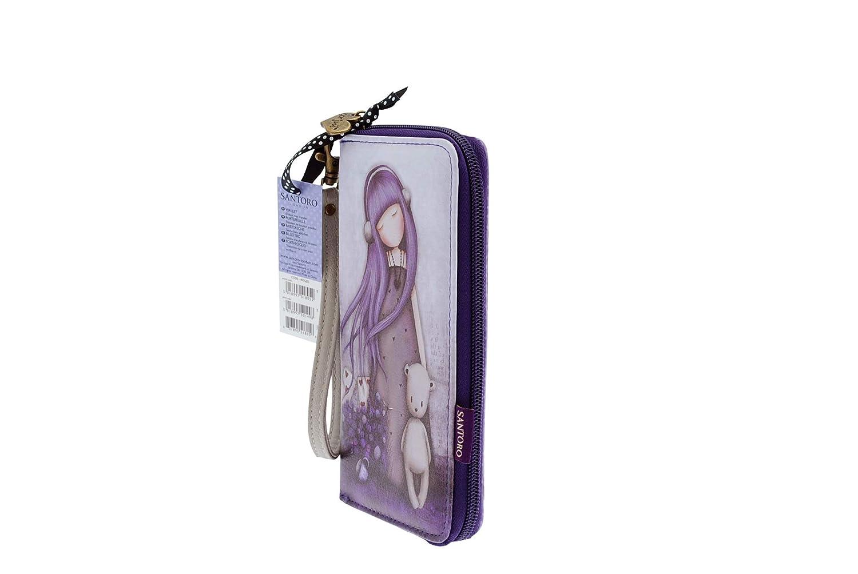 SANTORO GORJUSS - Cartera para mujer Dusky Purple: Amazon.es: Ropa y accesorios