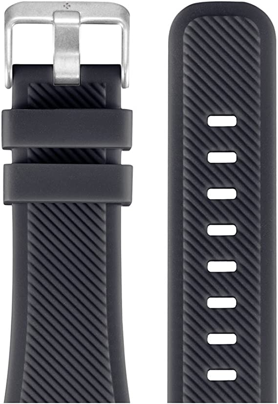 Amazon.com: MyKronoz 22mm Original Watch Band Silicone ...
