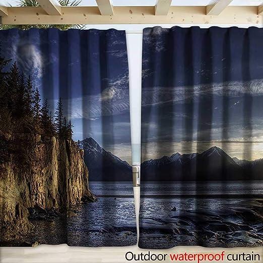 warmfamily Alaska - Pérgola para Patio, diseño de cabaña Aurora Borealis Sobre la Nieve (108 x 96 cm): Amazon.es: Jardín