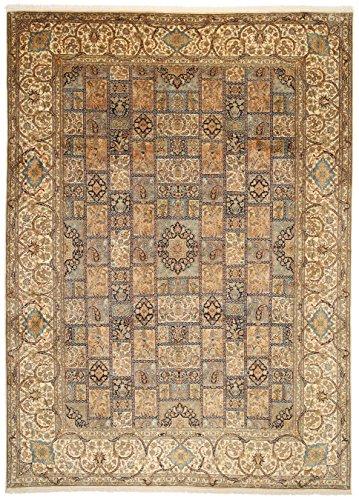 Kashmir pure silk rug 9'x12'4