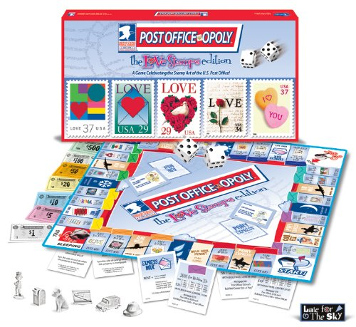 Post Office Opoly Love Stamp