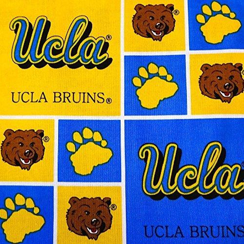 UCLA Bruins Patchwork NCAA 100% Cotton Print Fabric, 45