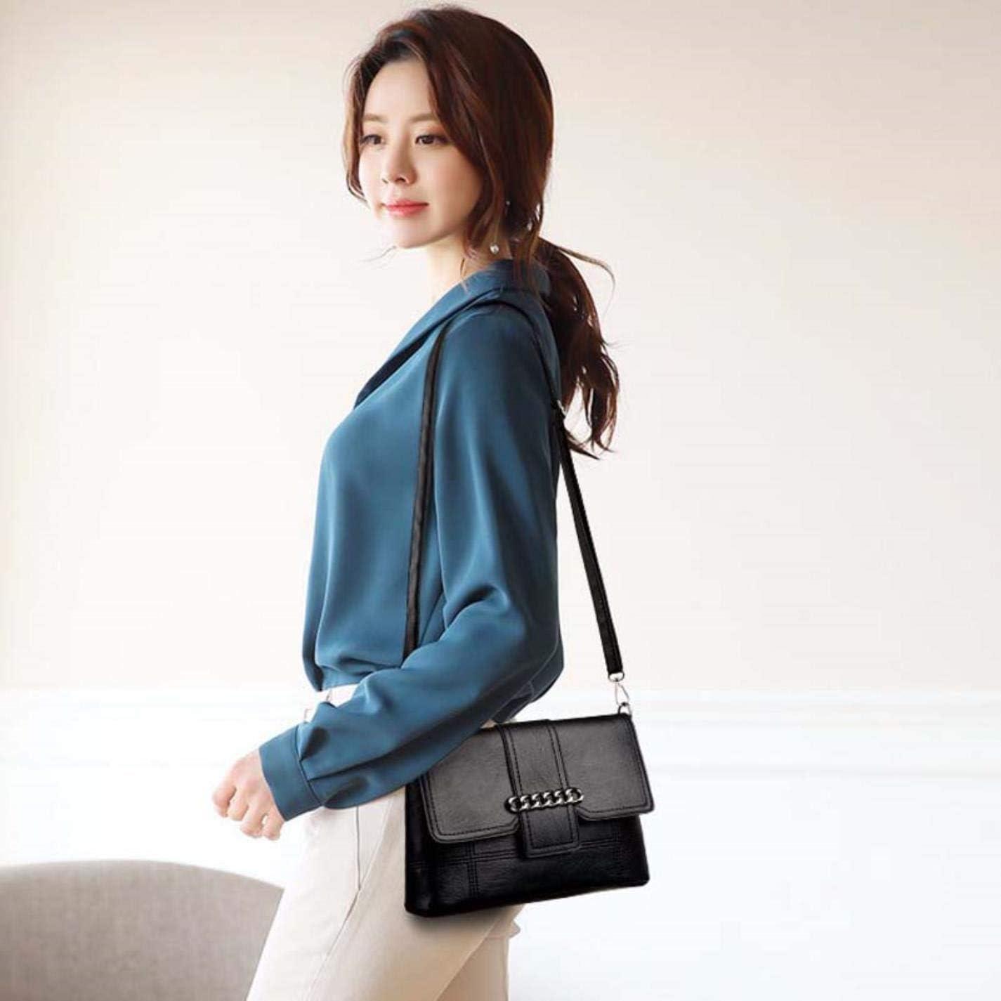 Zipper shoulder messenger bag