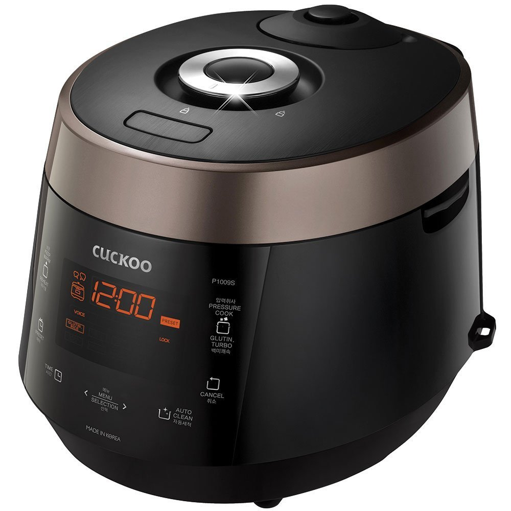Cuckoo Electric Heating Pressure Rice Cooker CRP-P1009SB (Brown) by Cuckoo