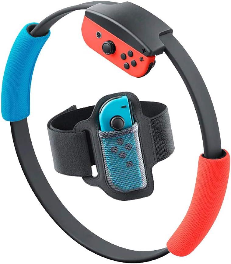 SweetCom - Correa de sujeción Ajustable para Nintendo Switch Fit Adventure Game (no Incluye Anillo): Amazon.es: Electrónica