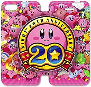 Fashion Style Gameboy Kirby Phone case Thin Slim Flip Leather Case Cover For iPhone 5 5s OOL2967224