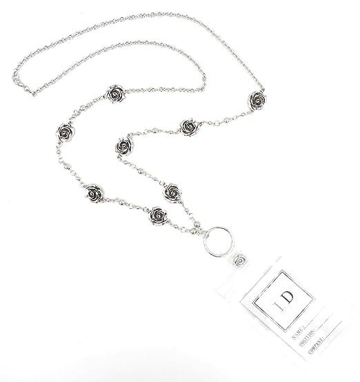 Amazon.com: Diseñador Inspirado de la mujer ID Badge Lanyard ...