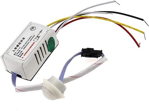 OTOTEC PIR Cuerpo infrarrojo Sensor de Movimiento Interruptor de ...