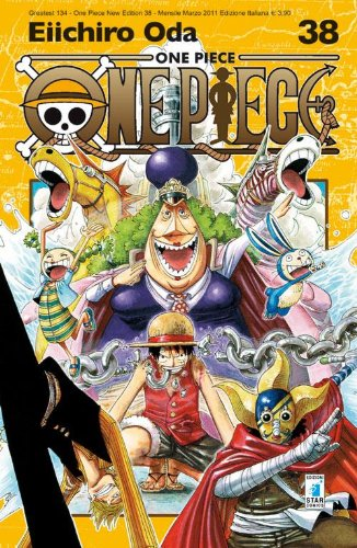 One piece. New edition: 38 Copertina flessibile – 16 mar 2011 Eiichiro Oda E. Martini Star Comics 8864202242