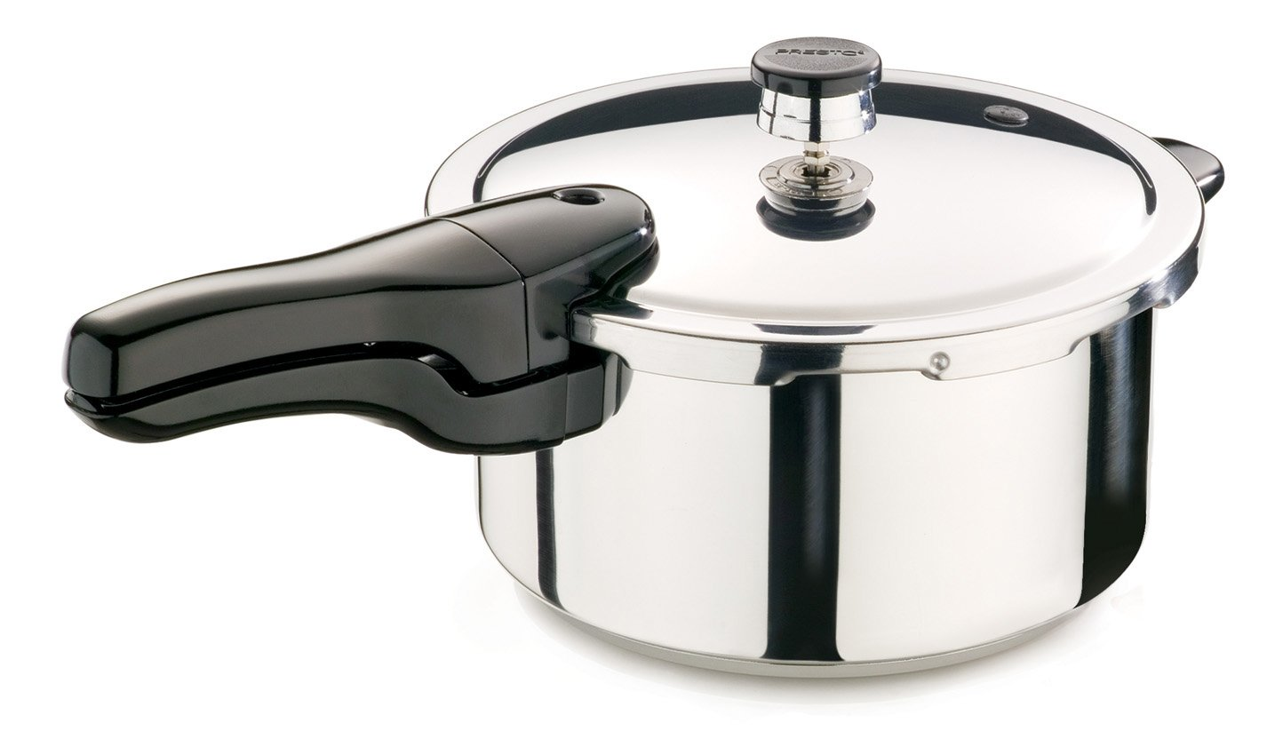 Presto 4-Quart Stainless Steel Pressure Cooker - Model #01341