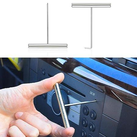 flintronic/® Herramientas Desmontar Audio Veh/ículo Interior Recubrimiento Desmontaje 12PCS Pl/ástico Desmontaje//Eliminaci/ón Kit para Desmontar el Salpicadero Radio