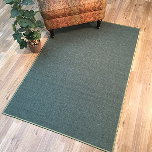 Anti Bacterial Rubber Back Area Rugs Non Skid Slip 3x5