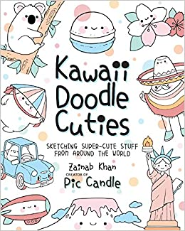 Kawaii Doodle Cuties Amazon Fr Zainab Khan Livres