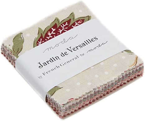 Jardin de Versailles Mini Charm Pack By French General; 110cm ...
