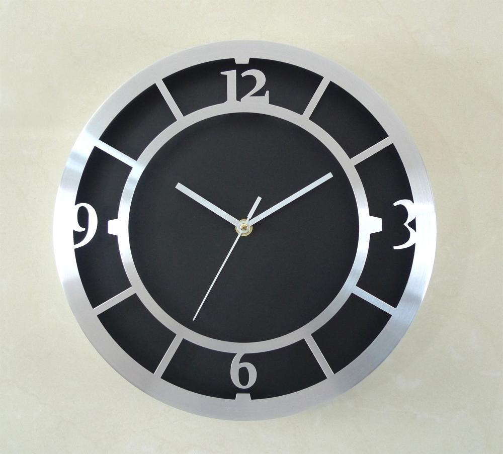 envio rapido a ti Axiba Parojo de Metal de de de 12 Pulgadas Aluminio Reloj Reloj de Parojo Decorativo Europeo Regaños creativos  comprar mejor