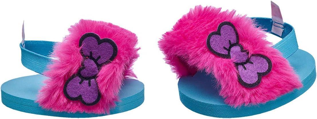 Build A Bear Workshop Kabu Fuzzy Sandals