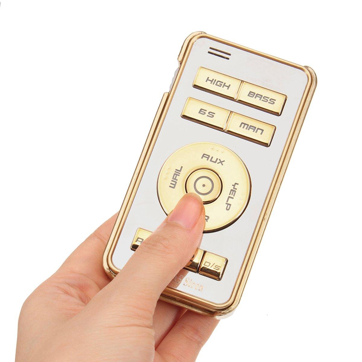 Alamor 200W alarme avertisseur sonore bruit de la police sir/ène avertisseur sono syst/ème