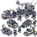 シティ特殊部隊ポリスカー4台セット合体サンダーコマンドパトカー レゴ (LEGO) 対応 互換