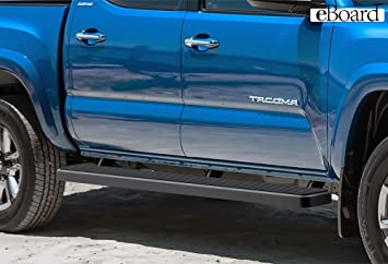 2017 Toyota Tacoma Running Boards >> Amazon Com 6 Black Eboard Running Boards For 2005 2017