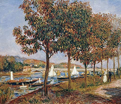 Pierre-Auguste Renoir The Bridge at Argenteuil 30