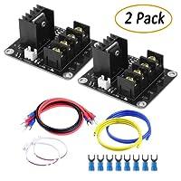 TopDirect 2PCS module de charge de courant élevé de tube d'extension de module de puissance de lit chaud de module de MOS pour l'imprimante 3D
