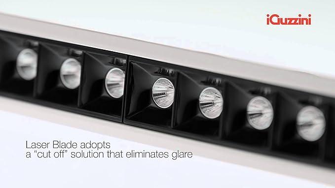 iGuzzini MK54 Laser Blade Incasso LED 21W 3000K 1840lm ...
