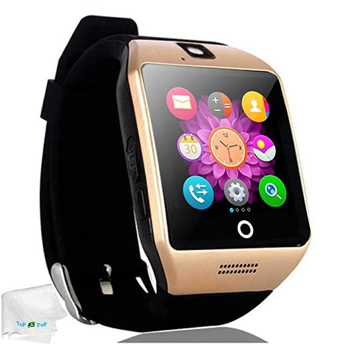 2f6af9f25ed Touch Screen Smart Watch Bluetooth Wrist Watch Pedometer Fitness Tracker  Smartwatch Sleep Monitor Compatible Android Cell