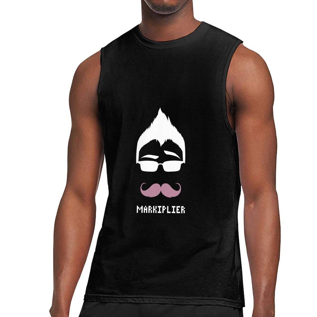 Zpanter S Sleeveless T Shirt Markiplier Workout Tank Tops Gym Bodybuilding Tshirts Black