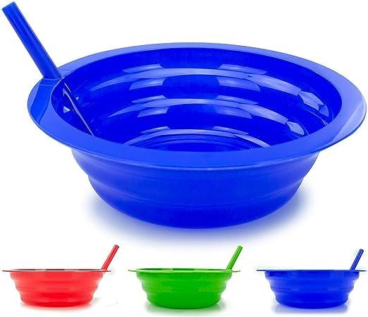 Kids Straw Bowls Cereal Ice Cream Milk Plastic 8 Pack Fun Dishes Children Gift