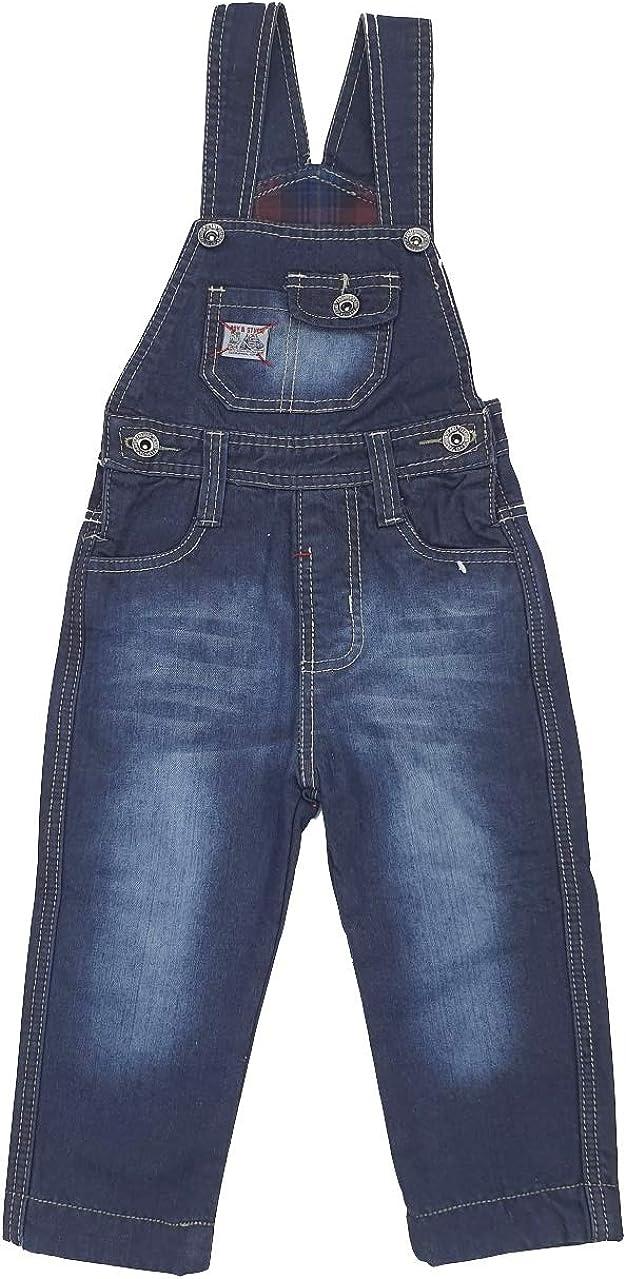 J3025e BOY/&STUDIO Jungen Thermo Jeans gef/ütterte Latzhose