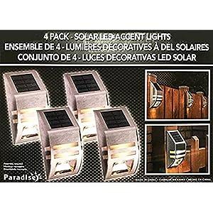Solar LED Accent Lights - 4 Pack