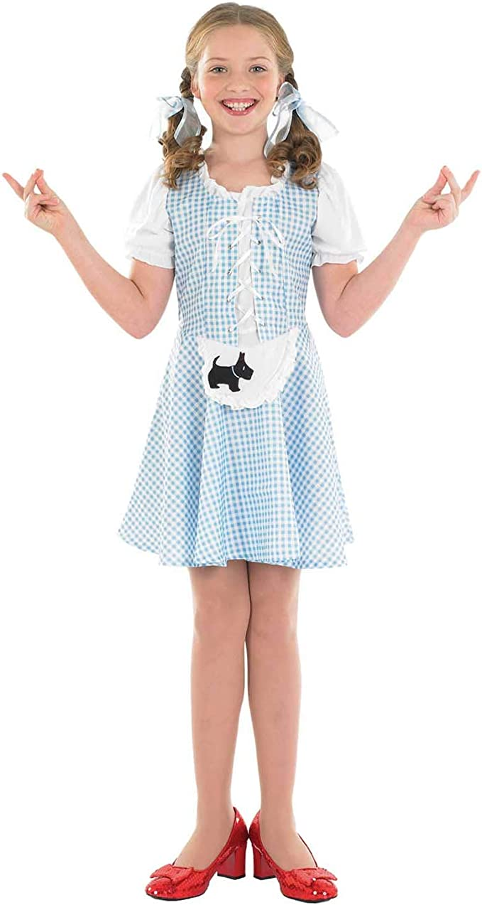 Fun Shack Girl - Disfraz de Dorothy para niña, Talla S (4-6 años ...