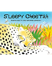 African Animal Tales Sleepy Cheeta