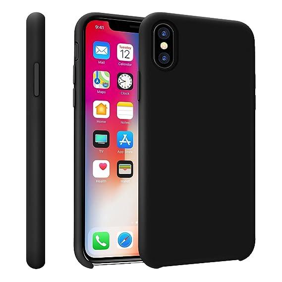 b9b002d5c6c Hanlesi para iPhone X Funda ,Nuevo Ultrafino Cómodo Teléfono Estuche para  teléfono suave y rígido