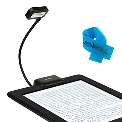 iKross Negro Dual LED Clip-On luz de Lectura con * Cable de ...