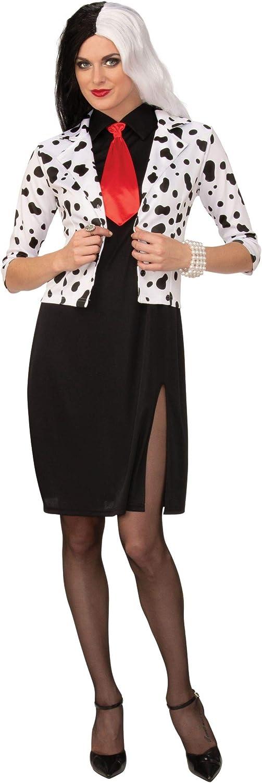 Cruella De vil Elegante Vestido Disfraz de Emma s Wardrobe – 101 ...