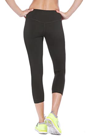 dc7921be3f NikiBiki Sports Yoga Capri Pants Made in USA at Amazon Women's Clothing  store: