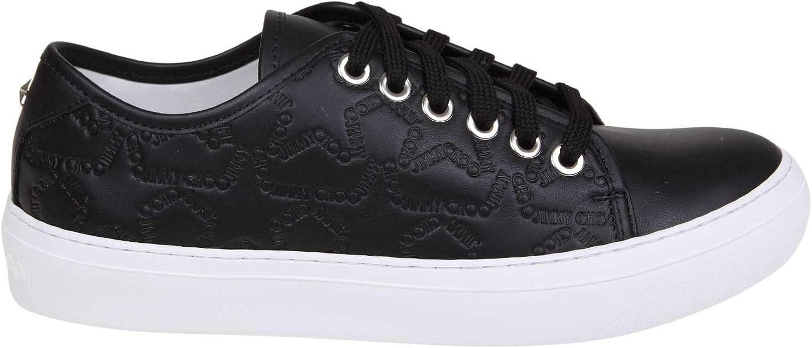 JIMMY CHOO Luxury Fashion Mens Sneakers Summer Black