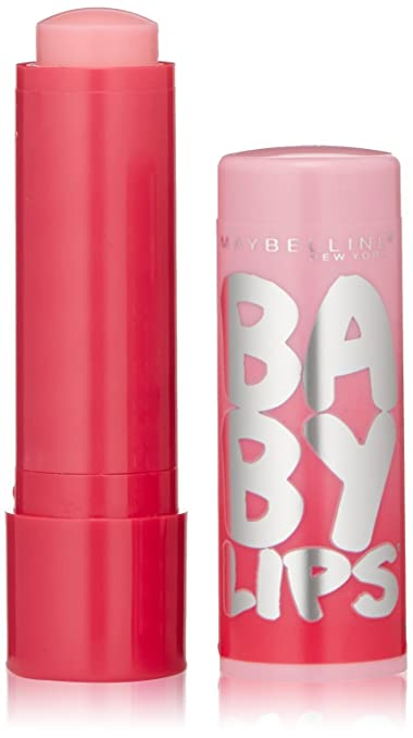 Maybelline New York Baby Lips Glow Balm, My Pink, 0.13 Ounce