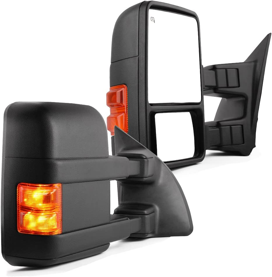 Amazon.com: YITAMOTOR Towing Mirrors compatible for Ford 1999-2007 Ford  F250 F350 F450 F550 Super Duty Tow Mirrors Power Heated with Turn Signal  Light Side Mirrors 1999 2000 2001 2002 2003 2004 2005 2006 2007: Automotive | Ford F 350 Heated Mirror Wiring Diagrams |  | Amazon.com