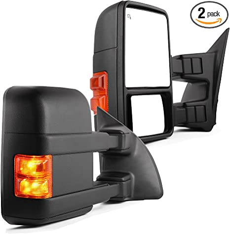 For 2003-2007 Ford F350 Super Duty Mirror Right TYC 66394VX 2004 2005 2006