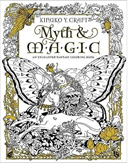Amazon Fantasia Adult Coloring Book