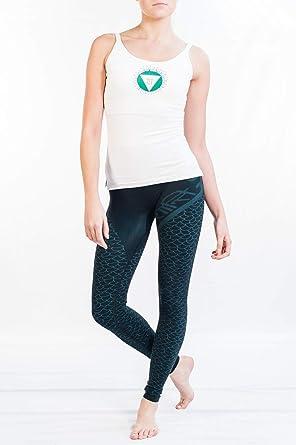 Chakra Yoga Top - Camisola de Yoga ética, ecológica, Pintada ...