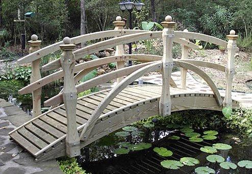 Garden Bridge - Standard Double Rail - Rail Garden Bridge Double