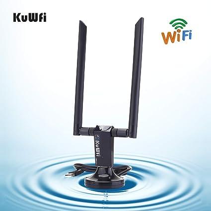 KuWFi KF1200 Adaptador Wifi Inalámbrico De Banda Dual ...